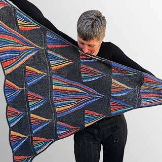 The Prism Effect Shawl