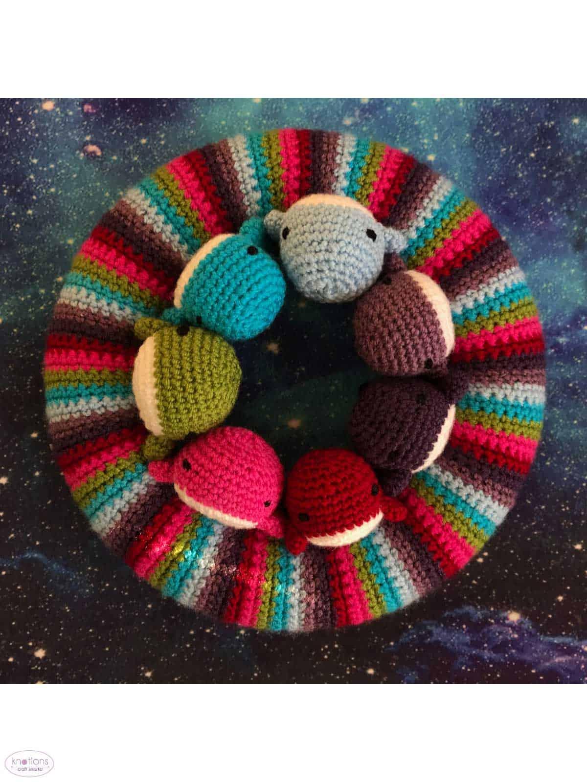 Whale Amigurumi Free Crochet Pattern • Spin a Yarn Crochet | 1600x1200