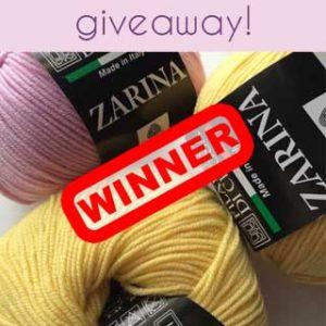 [Giveaway] Zarina Winner