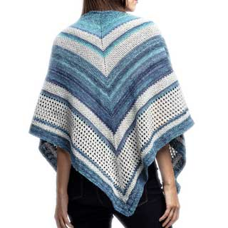 Blue Lakes Shawl