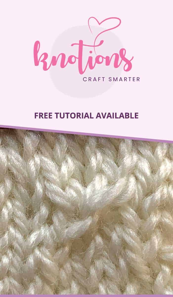 Beautiful Estonian lace knitting stitch! Learn how to work it with our step-by-step pictures and tips. Never be discouraged when you see this stitch again!