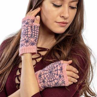 Charlotte Fingerless Mitts
