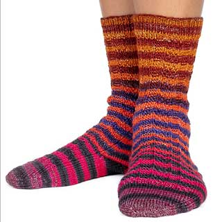 Corrugated Socks