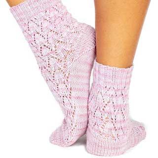 Else's Estonian Lace Socks