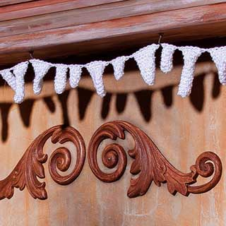 Sparkling Icicles Bunting