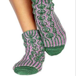Lollipop Forest Socks