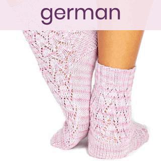 Else's Estonian Lace Socks [German]