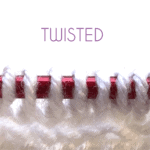 [tutorial] Pick Up Twisted Stitches for a Heel Flap
