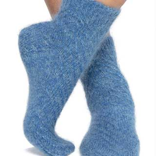 Mohair Magic Socks