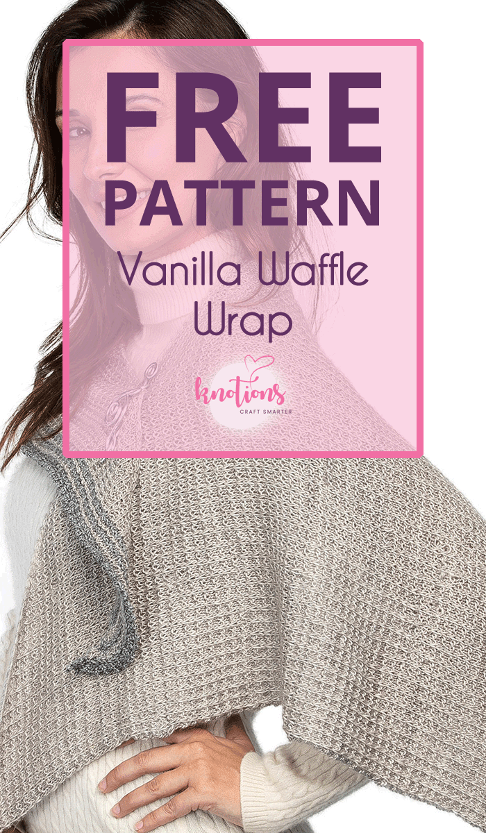 Free pattern for a triangular shawl with a simple texture stitch. Edged in a complimentary color, it's a gorgeous addition to a modern wardrobe.