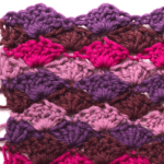 Craft Smarter in the New Year 2019: Color Blending 6 – Shell Stitch