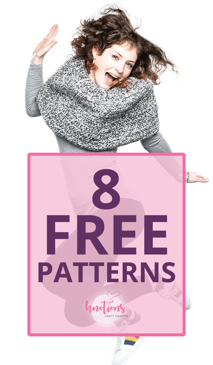 Knotions - get our 8 tech edited patterns - all free!